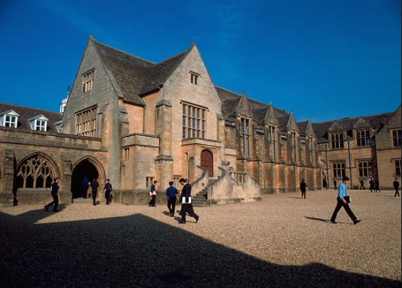 самые красивые школы англии